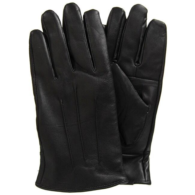 Boston Traveler Men's Cashmere-lined Leather Gloves