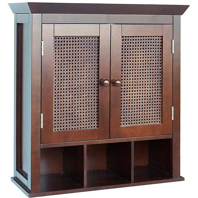 Jasper 2 Door Wall Cabinet By Elegant Home Fashions Free Shipping Today 12286968