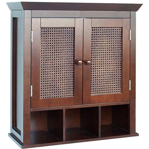Jasper 2-door Wall Cabinet by Elegant Home Fashions