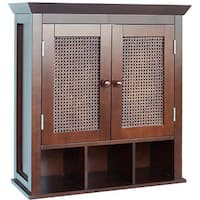 Jasper 2-door Wall Cabinet by Elegant Home Fashions