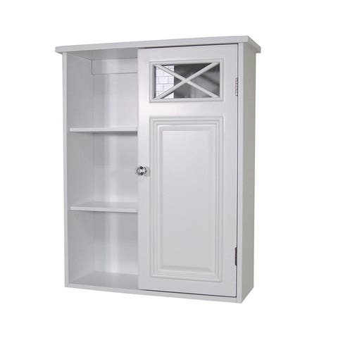 Virgo 1-door Wall Cabinet by Elegant Home Fashions
