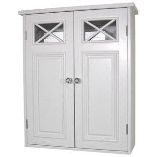 Elegant Home Fashions Virgo 2 Door Wall Cabinet 22 H X 18 W