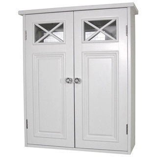 Essential Home Furnishings Virgo White 2 Door Wall Cabinet