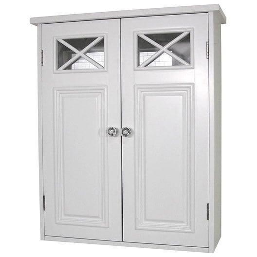 Elegant Home Fashions Virgo 2 Door Wall Cabinet 22 H X 18 W
