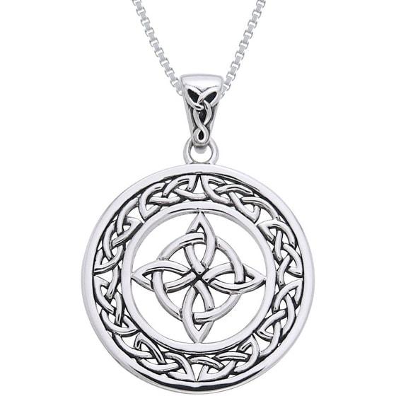 Carolina Glamour Collection Sterling Silver Celtic Good L...