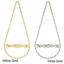 Simon Frank Gold Overlay Figure 8 Gucci-style 20-inch Necklace