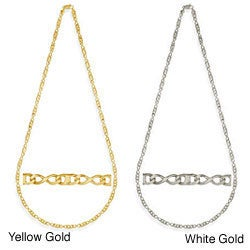 Simon Frank Gold Overlay Figure 8 Gucci-style 30-inch Necklace
