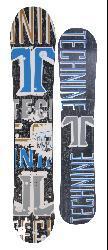 Technine MVP Series 161cm Men's Black Snowboard - Thumbnail 1