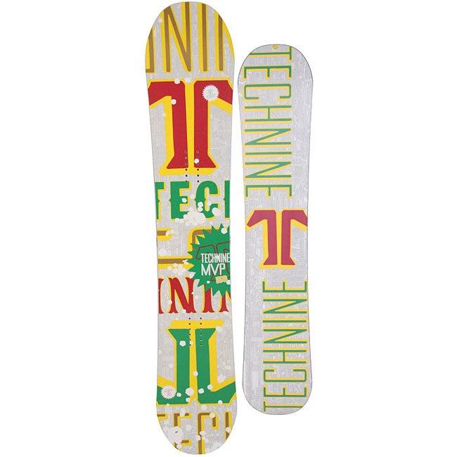 Technine MVP Series Men's 153 Rasta Snowboard