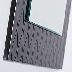 Strands Modern Wall Mirror - Thumbnail 1