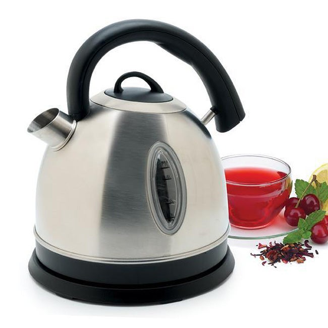 TCL Electric Stainless Steel (Silver) Cordless Kettle (St...