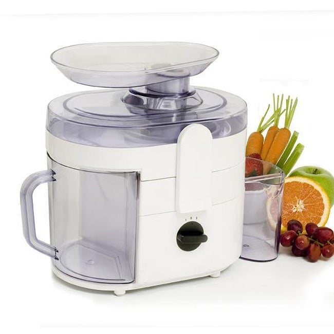 White 2-speed Fruit/ Vegetable Juice Extractor