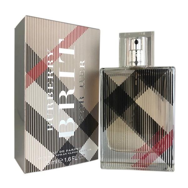 8cb6c572e87 Shop Burberry Brit Women s 1.6-ounce Eau de Parfum Spray - Free Shipping On  Orders Over  45 - Overstock - 4312608