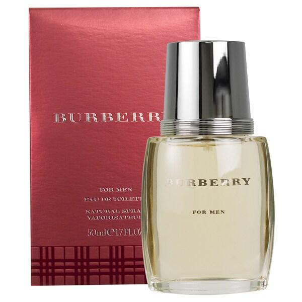 d38683ebcd Shop Burberry Men's 1.7-ounce Eau de Toilette Spray - Free Shipping On  Orders Over $45 - Overstock - 4312627
