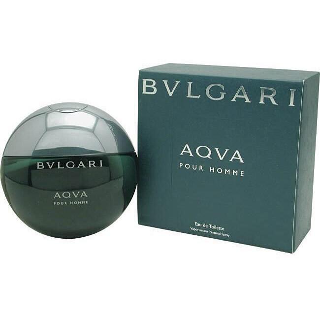Bvlgari Aqua (Blue) Men's 1.7-ounce Eau de Toilette Spray...