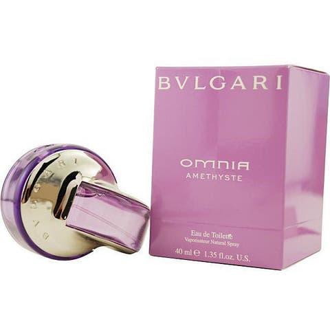 Bvlgari Omnia Amethyste Women's 1.3-ounce Eau de Toilette Spray