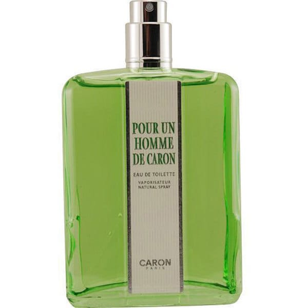 Caron Pour Homme Men's 4.2-ounce Eau de Toilette Spray (Tester)