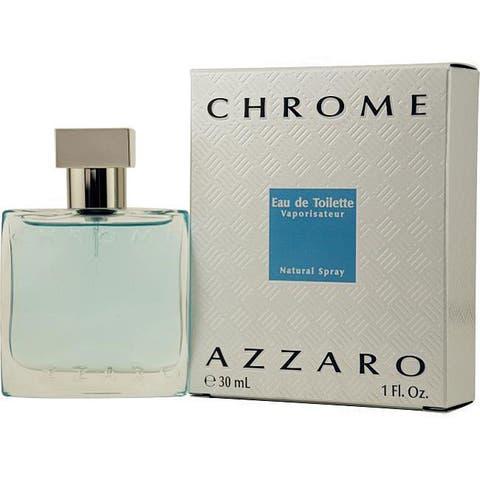 the latest eb878 b3771 Azzaro Chrome Men s 1-ounce Eau de Toilette Spray