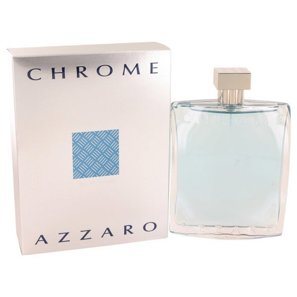 Shop Azzaro Chrome Men S 6 8 Ounce Eau De Toilette Spray Free