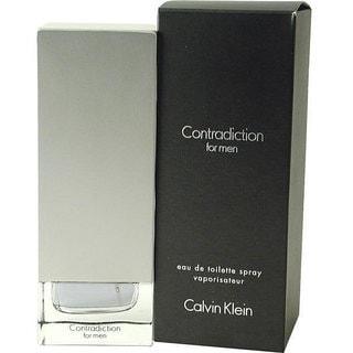 Calvin Klein CK Contradiction Men's 1.7-ounce Eau de Toilette Spray