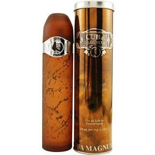 Cuba Magnum Black Men's 4.2-ounce Eua de Toilette Spray