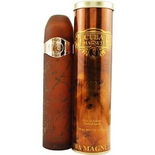 Cuba Magnum Gold Men's 4.3-ounce Eau de Toilette Spray