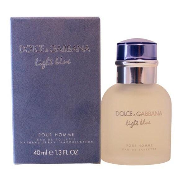 Dolce & Gabbana Light Blue Men's 1.3-ounce Eau de Toilette Spray
