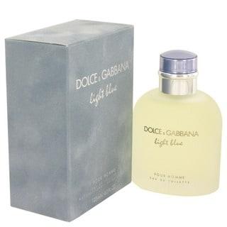 Dolce & Gabbana Light Blue Men's 4.2-ounce Eau de Toilette Spray