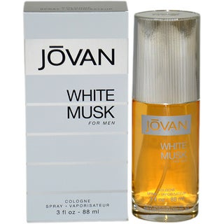 Jovan White Musk Men's 3-ounce Cologne Spray