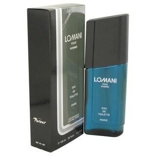 Lomani Men's 3.4-ounce Eau de Toilette Spray