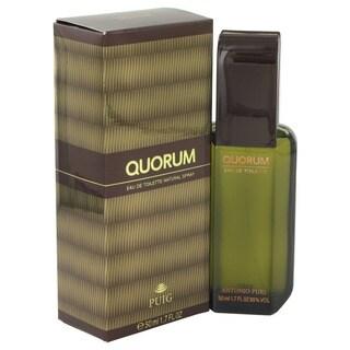 Antonio Puig Quorum Men's 1.7-ounce Eau de Toilette Spray