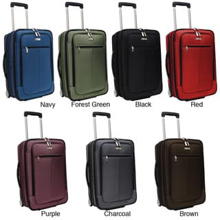 Traveler's Choice Siena 21-inch Hybrid Garment Bag Carry On Upright Suitcase