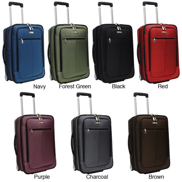 Traveler 39 s choice siena 21 inch hybrid garment bag carry How to pack a carry on suitcase video