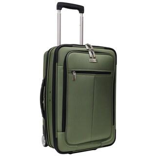 Traveler's Choice Siena 21-inch Hybrid Garment Bag Carry On Upright Suitcase