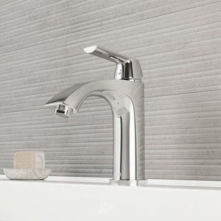 VIGO Penela Chrome Single Hole Bathroom Faucet