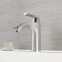 VIGO Penela Chrome Single Hole Bathroom Faucet