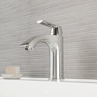 VIGO Penela Bathroom Single Hole Faucet in Chrome