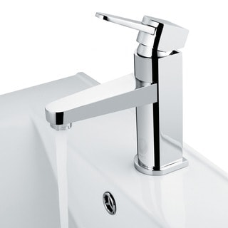 VIGO Soria Bathroom Single Hole Faucet in Chrome
