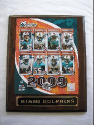 Miami Dolphins Team Picture Plaque - Thumbnail 1