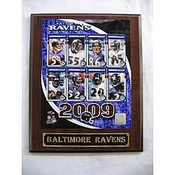 Baltimore Ravens Team Picture Plaque