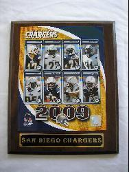 San Diego Chargers Team Picture Plaque - Thumbnail 2