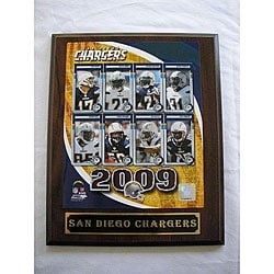 San Diego Chargers Team Picture Plaque