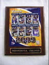 Minnesota Vikings Team Picture Plaque - Thumbnail 2