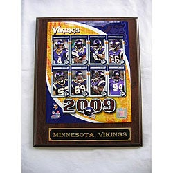 Minnesota Vikings Team Picture Plaque
