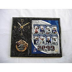 Indianapolis Colts Team Picture Plaque Clock
