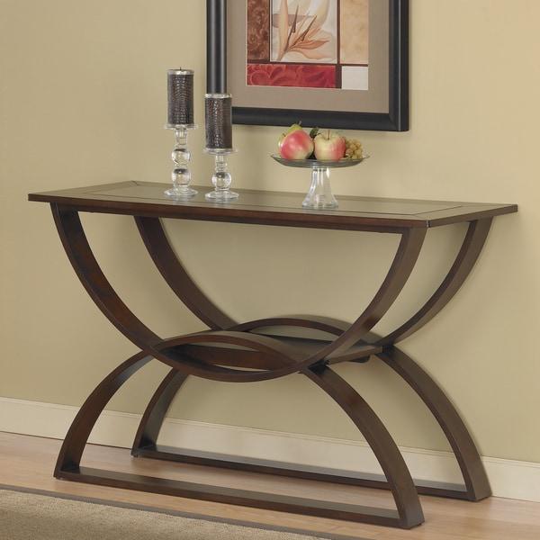 Shop Bentwood Walnut Sofa Table