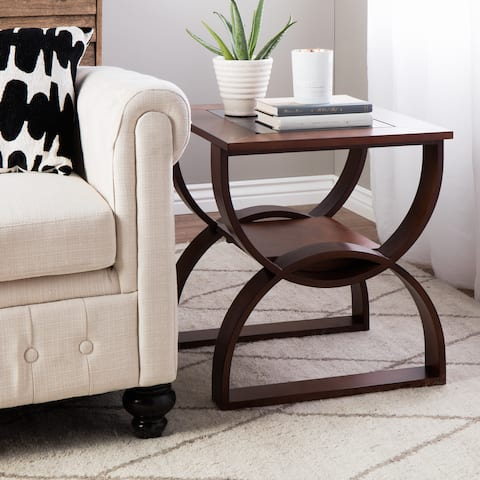 Copper Grove Bentwood End Table