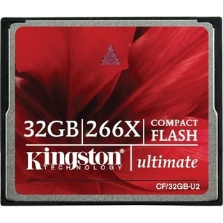 Kingston 32GB Ultimate CompactFlash (CF) Card