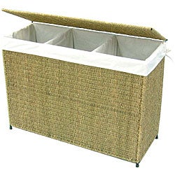 Seville Heavy Duty 3 Bag Laundry Hamper Sorter Free