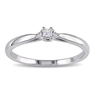 Miadora 10k Gold Diamond Accent Promise Ring